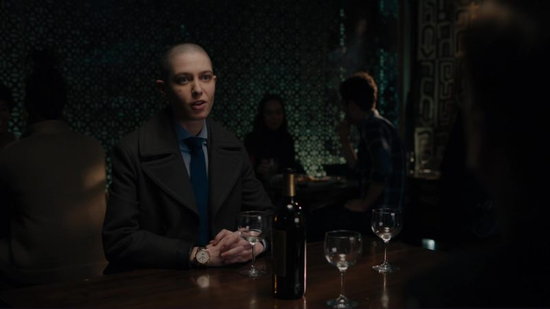 Patek Philippe 5270R Watch Worn by Asia Kate Dillon in Billions: Hell of a Ride (2018) - TV Show Product Placement