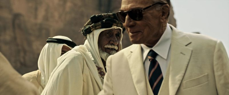 Persol Sunglasses Worn by Christopher Plummer in All the Money in the World (2017) Movie Product Placement