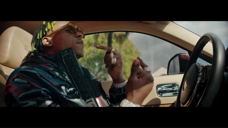 Philipp Plein Jacket Worn by Rich The Kid in Dead Friends (2018) - Official Music Video Product Placement