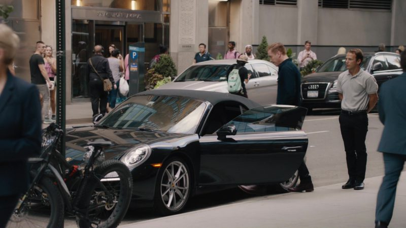 Porsche 911 Convertible Car Used by Damian Lewis in Billions: The Wrong Maria Gonzalez (2018) TV Show Product Placement