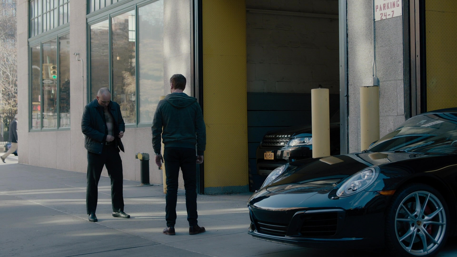 Porsche 911 Sports Car Used By Damian Lewis In Billions
