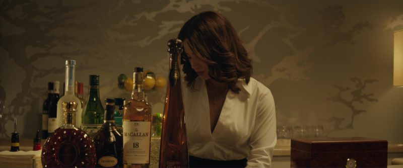 Rémy Martin XO and Hennessy XO Cognacs, Macallan 18 Whisky, Don Julio 1942 Tequila in Molly's Game (2017) Movie Product Placement
