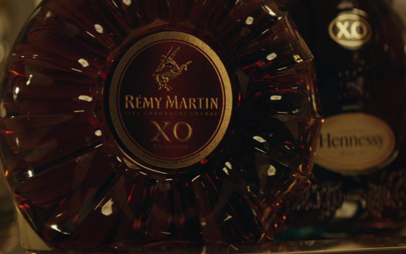Rémy Martin XO and Hennessy XO Cognacs in Molly's Game