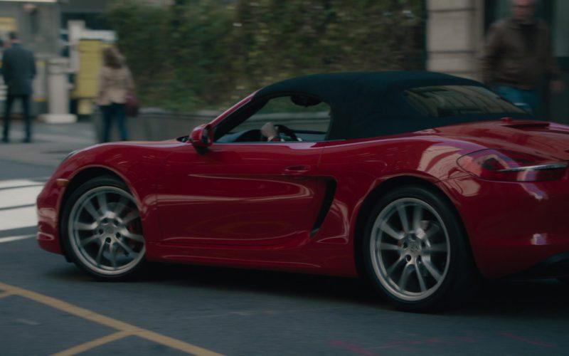 Red Porsche 718 Boxster Car Driven by Stephen Kunken in Billions (1)