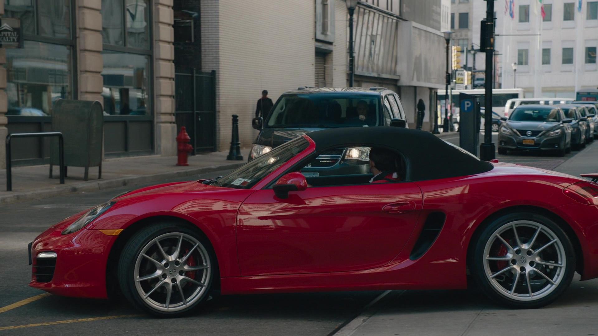 Exotic Car Brands >> Red Porsche 718 Boxster Car Driven by Stephen Kunken in ...