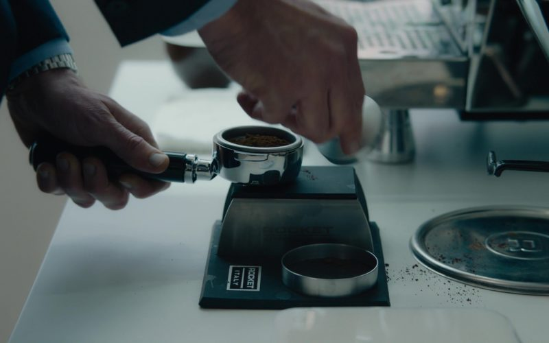 Rocket Espresso Machine Used by Stephen Kunken in Billions (1)