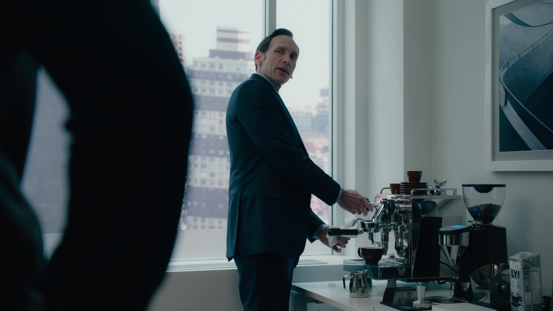Rocket Espresso Machine Used By Stephen Kunken In Billions