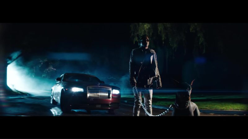 Rolls-Royce Wraith Car in Dead Friends by Rich The Kid (2018) - Official Music Video Product Placement