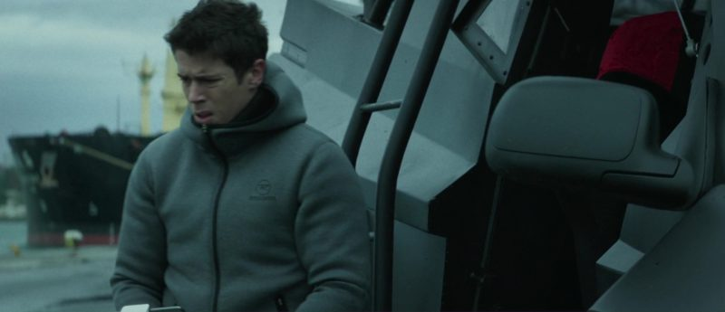 Rossignol Hoodie Worn by Toby Kebbell in The Hurricane Heist (2018) - Movie Product Placement