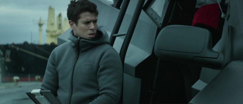 Rossignol Hoodie Worn by Toby Kebbell in The Hurricane Heist (2018) Movie Product Placement