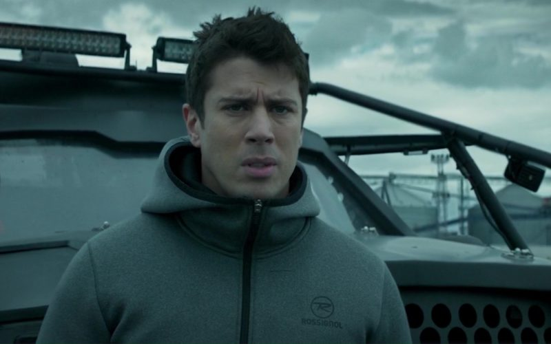 Rossignol Hoodie Worn by Toby Kebbell in The Hurricane Heist (5)