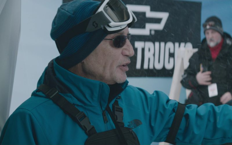 SCOTT Wintersports Goggles and The North Face Men's Jacket in Molly's Game