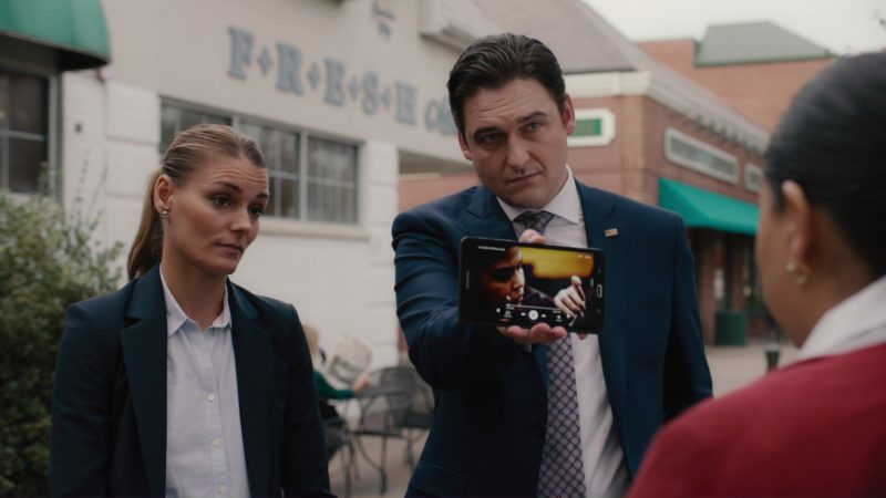 Samsung Tablet Used by Toby Leonard Moore in Billions: The Wrong Maria Gonzalez (2018) - TV Show Product Placement