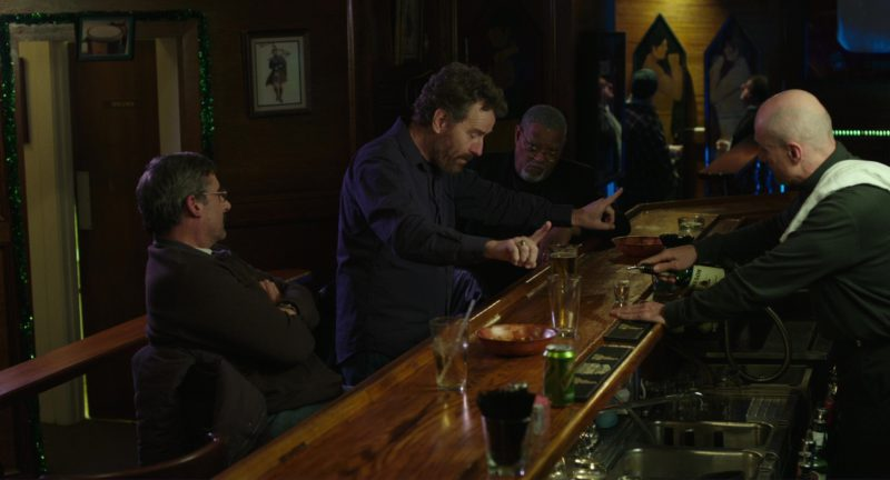 Schweppes Tonic Water Can in Last Flag Flying (2017) - Movie Product Placement