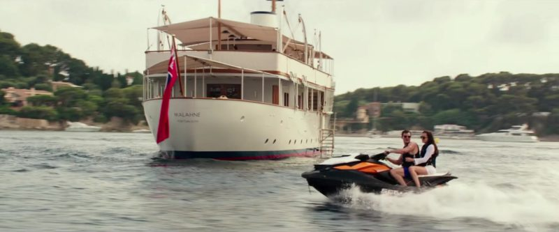 Sea-Doo Personal Watercraft Used by Jamie Dornan and Dakota Johnson in Fifty Shades Freed (2018) - Movie Product Placement
