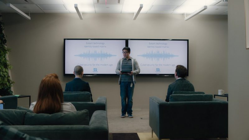 Sharp TV/Monitors in Billions: Flaw in the Death Star (2018) - TV Show Product Placement