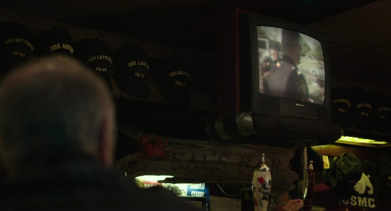 Sharp TV in Last Flag Flying (2017) - Movie Product Placement