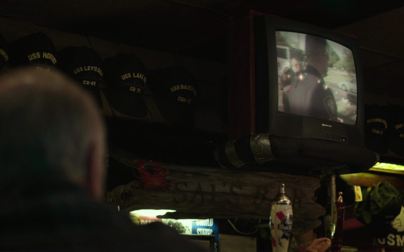 Sharp TV in Last Flag Flying