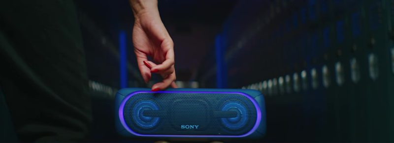 Sony Extra Bass Portable Wireless Speaker in Me So Bad by Tinashe ft. Ty Dolla $ign, French Montana (2018) Official Music Video Product Placement