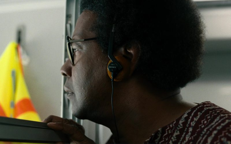 Sony Vintage Orange Headphones Used by Denzel Washington (10)