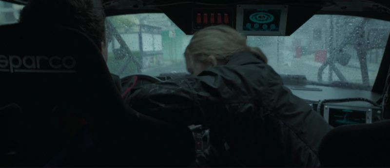 Sparco Car Seat Used by Toby Kebbell in The Hurricane Heist (2018) Movie Product Placement