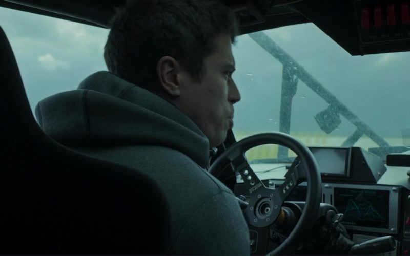 Sparco Seat and Steering Wheel Used by Toby Kebbell in The Hurricane Heist