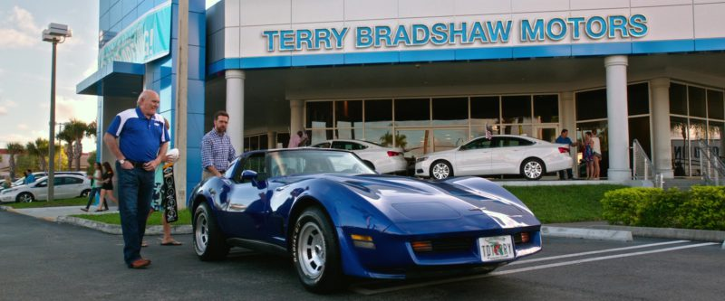 Terry Bradshaw Motors (Car Dealer) in Father Figures (2017) Movie Product Placement