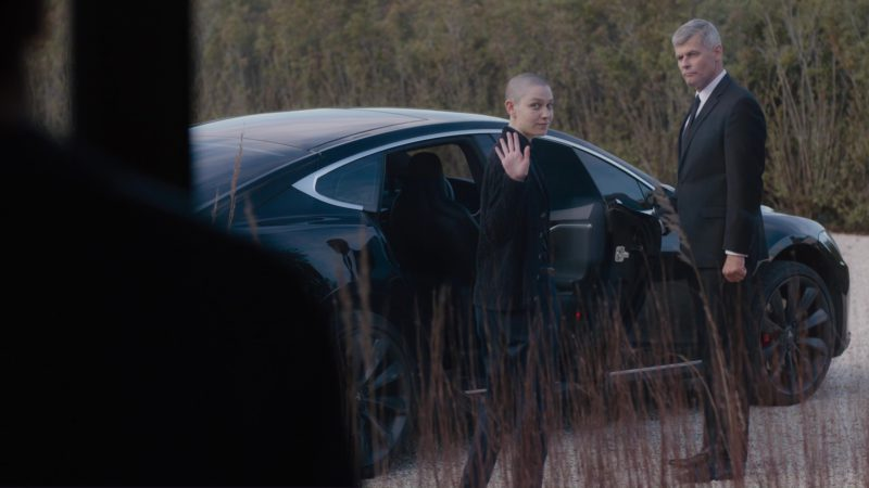 Tesla Model S Car Used by Asia Kate Dillon in Billions: Flaw in the Death Star (2018) - TV Show Product Placement