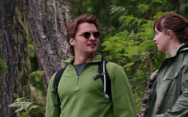 The North Face Green Jacket Worn by Luke Grimes in Fifty Shades Freed (1)