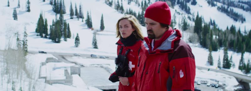 The North Face Jacket Worn by Ski Patroller in 6 Below: Miracle on the Mountain (2017) - Movie Product Placement