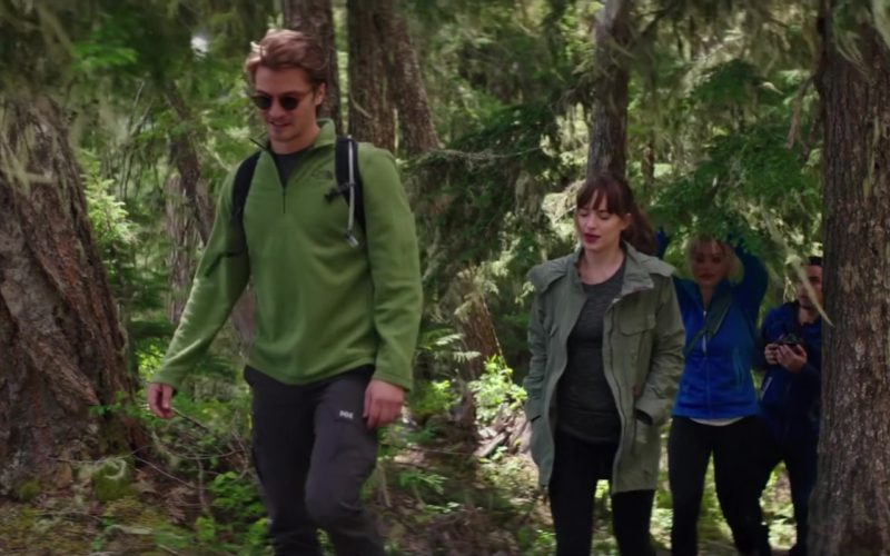 The North Face Jacket and Helly Hansen Pants Worn by Luke Grimes in Fifty Shades Freed (1)
