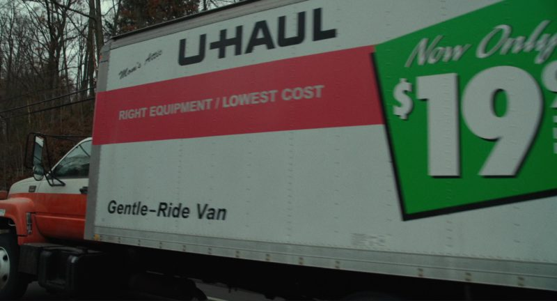 U-Haul Truck Used by Steve Carell and Bryan Cranston in Last Flag Flying (2017) - Movie Product Placement