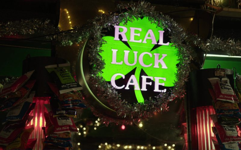 UTZ Chips and Real Luck Cafe in Last Flag Flying