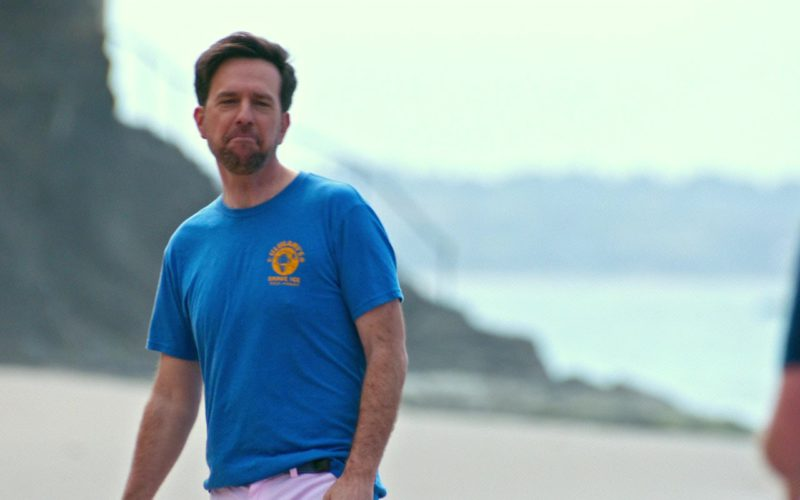 Ululani's Hawaiian Shave Ice T-Shirt Worn by Ed Helms in Father Figures (1)