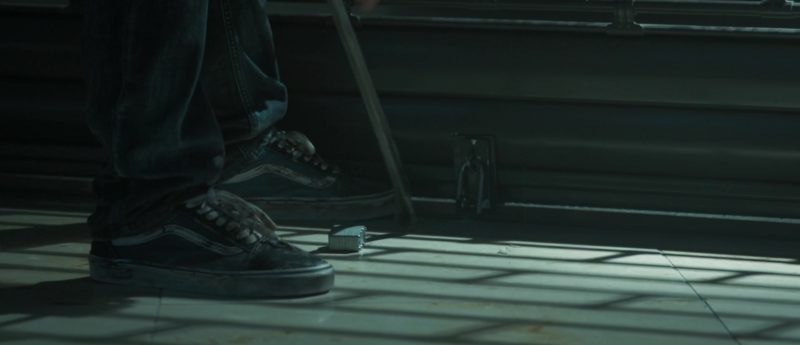 Vans Shoes Worn by by Toby Kebbell in The Hurricane Heist (2018) - Movie Product Placement