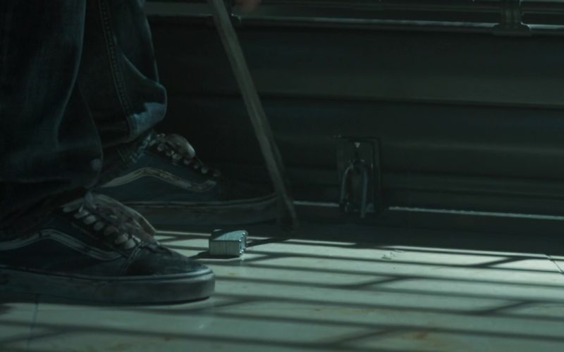 Vans Shoes Worn by by Toby Kebbell in The Hurricane Heist