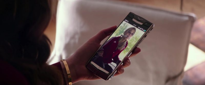 Vertu Phone and AT&T Used by Dakota Johnson in Fifty Shades Freed (2018) - Movie Product Placement