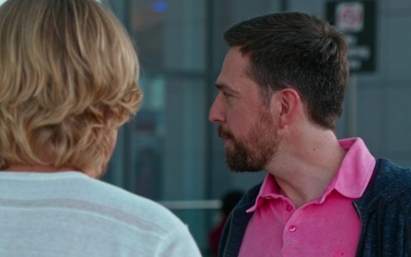 Vilebrequin Pink Polo Shirt Worn by Ed Helms in Father Figures (1)