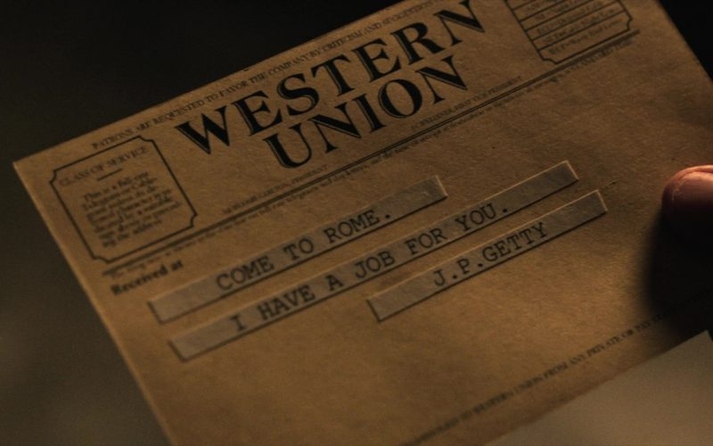 Western Union in All the Money in the World (1)
