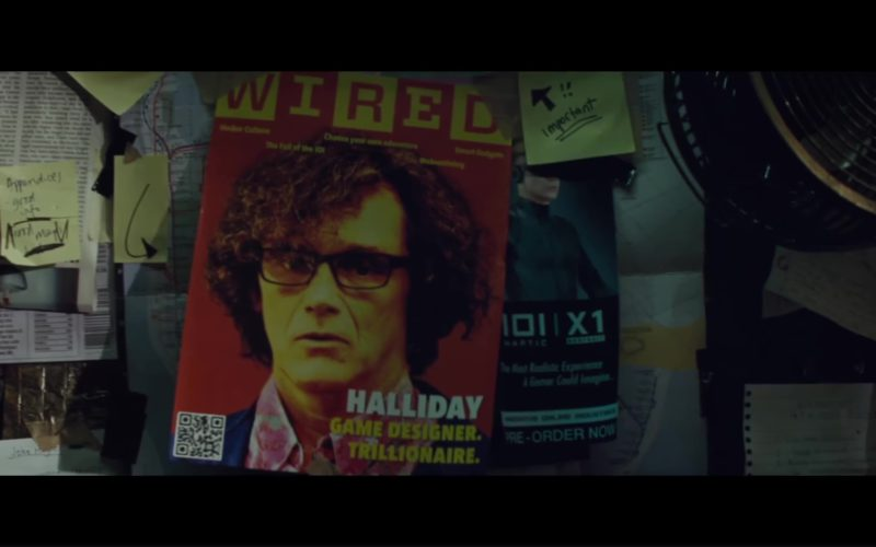Wired Magazine Cover in Ready Player One