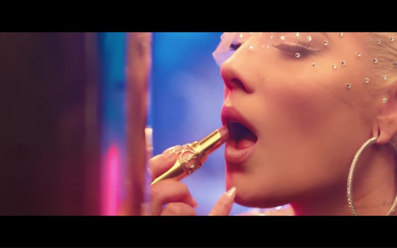 YSL Lipstick Used by Halsey in Alone ft. Big Sean, Stefflon Don (3)