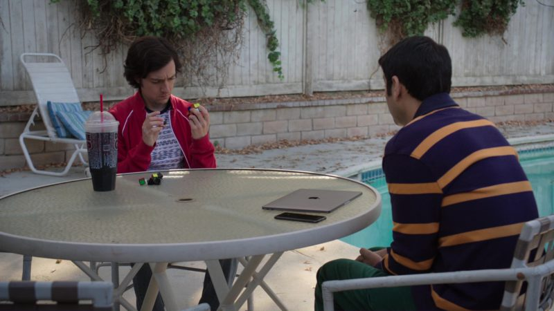 Double Gulp and Apple Macbook in Silicon Valley: Initial Coin Offering (2018) TV Show Product Placement