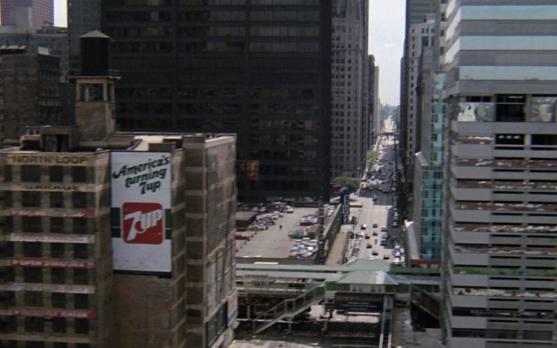 7UP Billboard in Ferris Bueller's Day Off