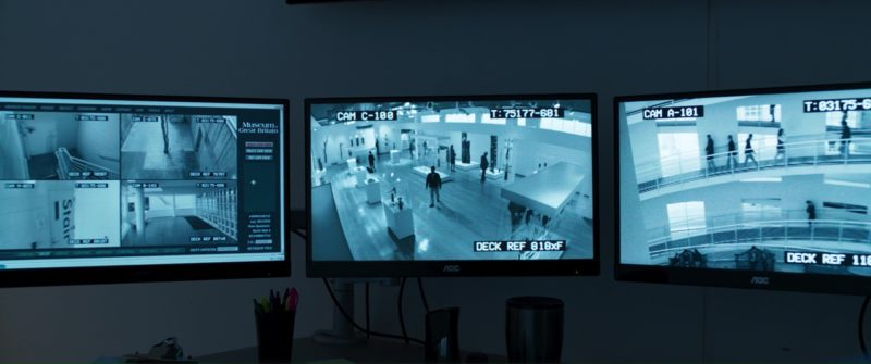 AOC Monitors in Black Panther (2018) Movie Product Placement