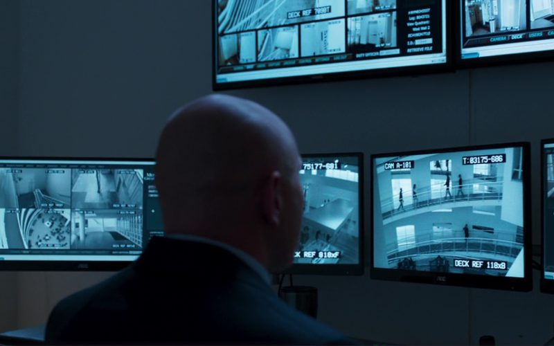 AOC and Samsung Monitors in Black Panther
