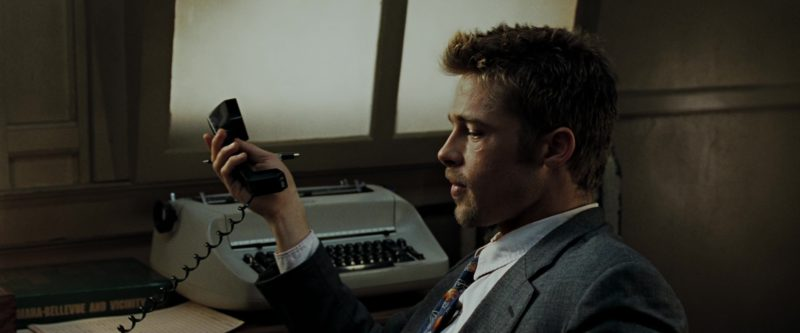 AT&T Phone Used by Brad Pitt in Seven (Se7en) (1995) Movie Product Placement