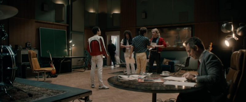 Adidas Shoes (White) Worn by Rami Malek in Bohemian Rhapsody (2018) Movie Product Placement