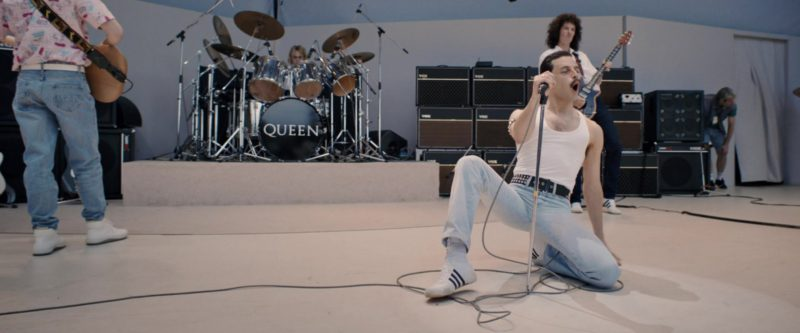 Adidas Shoes (White) Worn by Rami Malek in Bohemian Rhapsody (2018) - Movie Product Placement