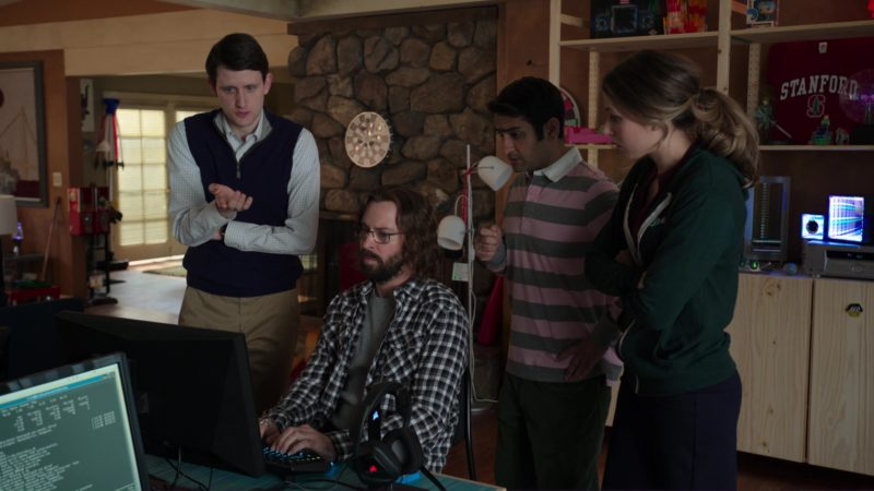 Alienware Monitor Used by Martin Starr (Gilfoyle) in Silicon Valley: Fifty-One Percent (2018) - TV Show Product Placement
