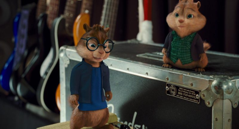 Anvil Cases in Alvin and the Chipmunks: The Squeakquel (2009) Movie